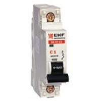 Выключатели автоматические серии ВА 47-63, 1P 0,5А EKF Electrotechinca