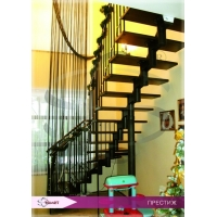 Модульные лестницы. Стамет .Престиж