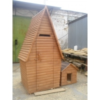 Деревянные хоз/блоки, туалеты деревянные