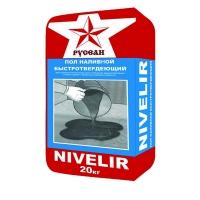 Наливной пол Nivelir Русеан, 20 кг Русеан Nivelir