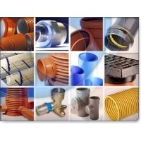 Скорлупа ППУ,Трубы ППУ, Трубы НПВХ для наружной канализации