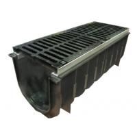 Пластиковый лоток водоотводный  DN-300