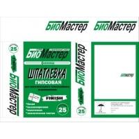 Шпатлевка  гипсовая Finish (белая) BioMaster