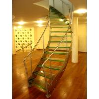 Лестницы из закаленного стекла