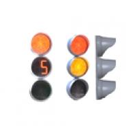 Светофор транспортный светодиодный с круглыми секциями  Т 1.II