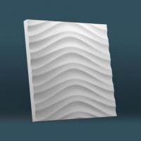 3D панели из гипса Спец Панель Золотая зебра
