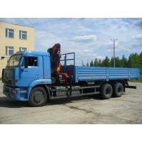 Бортовой автомобиль КАМАЗ 65117 Palfinger PK15500A