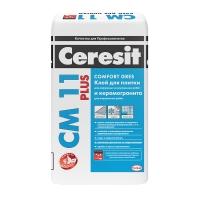 Клей для крепления керамической плитки  Ceresit СМ 11 Plus