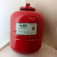 Расширительный бак для отопления, 8л, Uni-Fitt