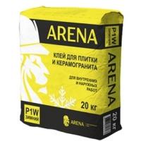 Клей для плитки и керамогранита  ARENA P1W 20 кг