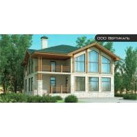Проект комбинированного дома 37-22 Вертикаль 37-22