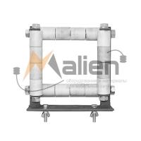 Ролик направляющий для перф. кабельного лотка ВР-КЛ-4/250 Малиен ВР-КЛ-4/250