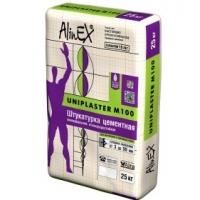 Штукатурка Uniplaster М100 25 кг AlinEX