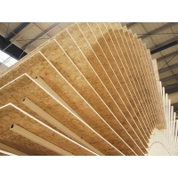 OSB плита Bolderaja OSB SUPERFINISH 2500х1250х9