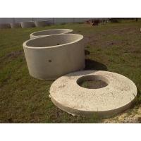кольца канализационные, плиты, раствор