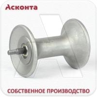 В-AL-120 Алюминиевый валик для кабельного ролика на оси