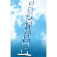 Предлагаем лестницы двухсекционные Алюмет