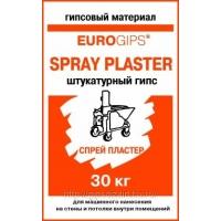 Spray Plaster EUROGIPS (штукатурка для машинного нанесения)