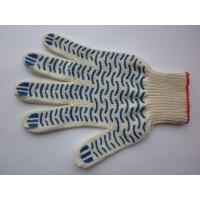 перчатки рабочие  10 и 7 ПВХ(волна)