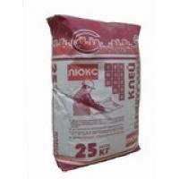Клей плиточный ЛЮКС 25 кг  для натурального камня