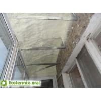 Напыляемый пенополиуретан ППУ Экотермикс - утепление потолков