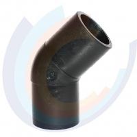 ОТВОД 45° литой (Спигот) DN 110 SDR11