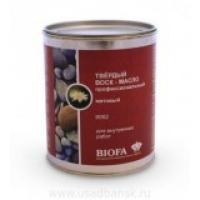 Твердый воск-масло профессиональный матовый BIOFA 9062