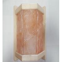 Угловой абажур для сауны с плитками гималайской соли - 1550 руб  3 Плитки Л-1