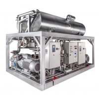 Каскадные холодильные установки SABROE CAFP, 100–800 кВт