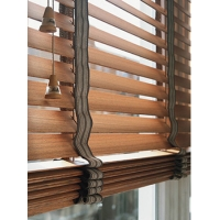 Жалюзи горизонтальные (деревянные, бамбуковые) 50 мм
