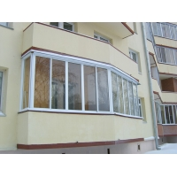 Пластиковые лоджии и балконы из профиля GEАLAN  , MACO