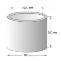 Форма КС-10.9 Кольцо стеновое  КС-10.9