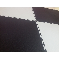 Модульные напольные покрытия ПВХ  Модульный пол Sold Flat, 7мм, 500х500