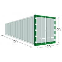 Продажа морских и железнодорожных контейнеров 40 футов (тонн)