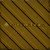 Тактильная плитка Диагональные рифы (300x300x30) Дедал