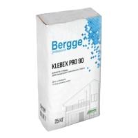 Клей для утеплителя Bergge Klebex PRO 90 25кг