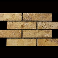 Травертин Elegant Stone Мозаика Travertine Gold