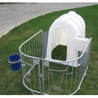 домики для телят пластиковые  от производителя в Омске
