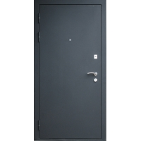 Входная металлическая дверь Аргус Черный бархат