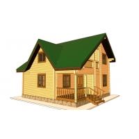 Дом из бруса «Пётр»