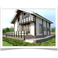 Комплекты домов, бань, беседок из клееного бруса