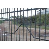 Секции заборные с сеткой или прутьями