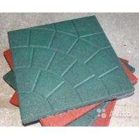 Травмобезопасная резиновая плитка «Паутинка»(толщина 20мм)