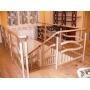 Лестницы деревянные, лестницы винтовые, лестницы комбинированные  деревянные изделия Екатеринбург