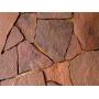 Песчаник красный, рваный, 15-20мм   Калининград