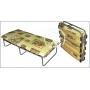 Детская раскладная ортопедическая кровать с холконовым матрасом Ярославский завод кемпинговой мебели КТР-2ЛПК-2 Ярославль