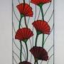 Триплекс декоративный, стеклянный фартук, художественные витражи   Краснодар