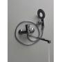 Смеситель в ванную с  нажимным дивектором на корпусе БРИМИКС 3506-1 Москва
