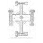 Фонарь смотровой трубопроводный угловой   Набережные Челны