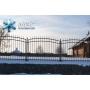 Сварной забор с ковкой   Пермь